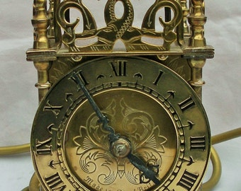 Brass Clock. Smiths. Vintage