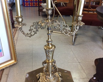 Ornate Metal Candle Holder