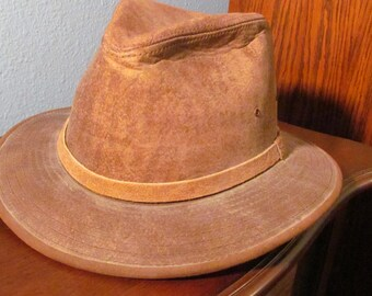 Vintage Indiana Jone's Style Hat Size Medium