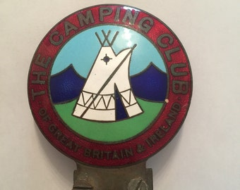 The Camping Club of Great Britain and Ireland Car Badge
