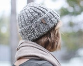 Wool | Toque | Hat | The Nova Scotia 100% Pure Sheep Wool Hat in Two Tone