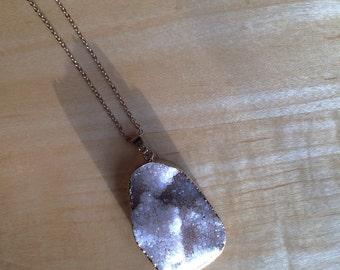 Mystic Crystal Gemstone Necklace