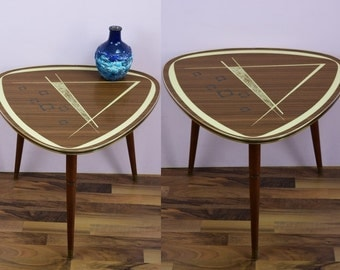 Vintage kidney table, side table, coffee table | 50s | Germany