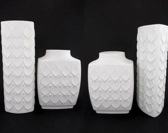 Set of 2 vintage vases / AK Kaiser / model 180 and 183 | West German Pottery | 70s