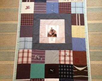 Handmade Adult Memory Blanket