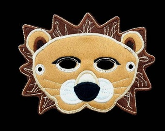 In Hoop Lion Mask