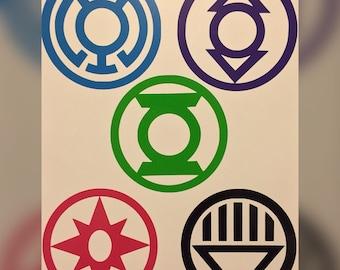 Lantern Corps Decal