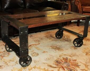 Repurposed Wood Coffee Table