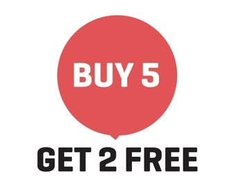 Sale, Buy 5 Get 2 Free, PrintsDigital