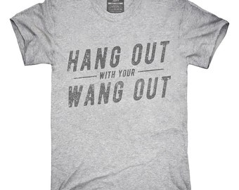dick hanging out t shirt