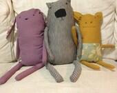 Stuffies Custom Handsewn Animal Creations