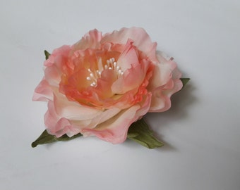 Silk Brooch flower