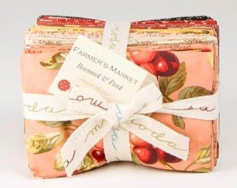 Farmer's Market Fat Eighths Bundle by Brannock and Patek for Moda