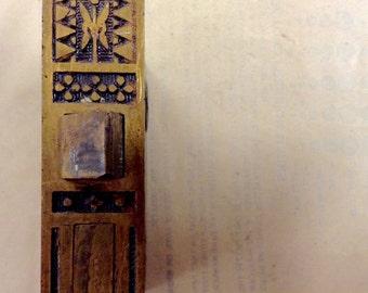 Eastlake Butterfly Door Lock, Mortise