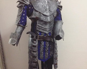 Grey Warden Heavy Warrior cosplay armor from Dragon age full set