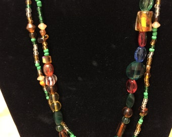Playful two layered Necklace
