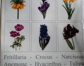 Cross stitch Kit Flowers 6