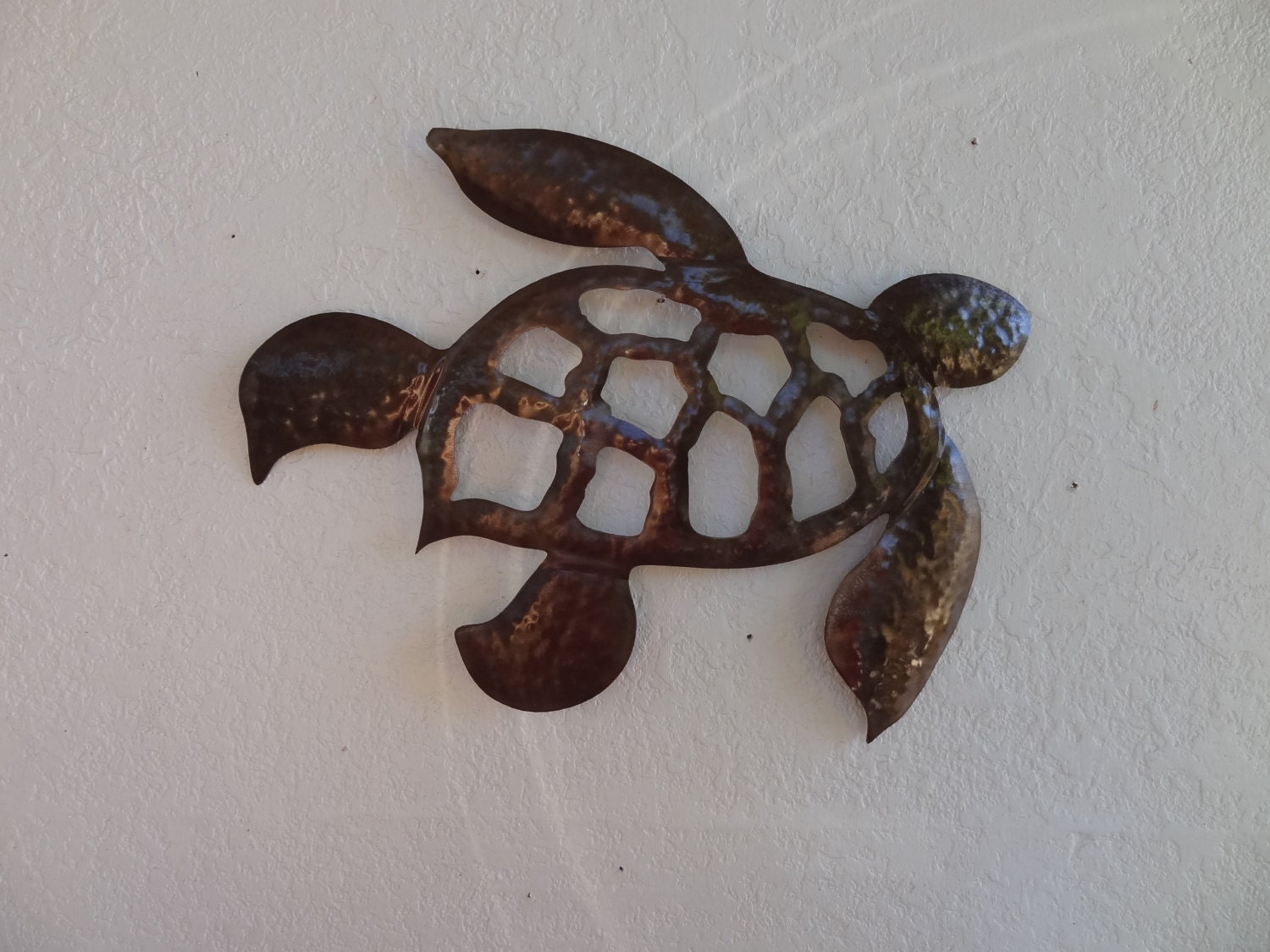 Sea Turtle Wall Art Home Decor Metal Wall Hanging