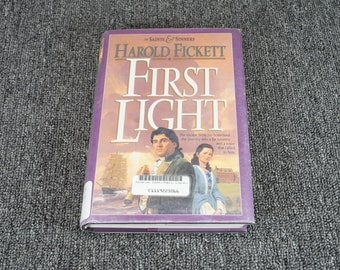 First Light Of Saints & Sinners Book 1 By Harold Fickett C. 1993