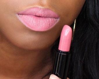 Mauve Lipstick, Pinkish-Brown Semi Matte Lipstick