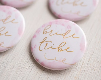 Bachelorette Party, Bride Tribe, Flare Button, Bridesmaid Button, Party Supplies, Bachelorette Supplies, Party Flare, Bar Crawl, Party Bus