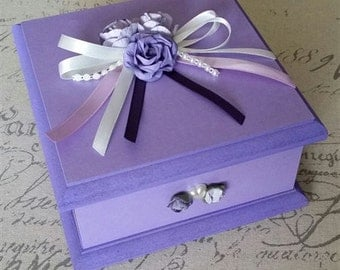 Lovely Lilac Keepsake Box