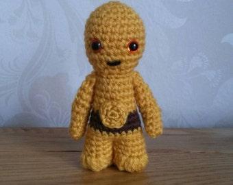 Crochet Star Wars Characters! C-3PO