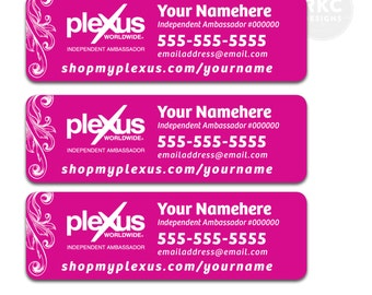 Plexus Labels - Customized  - Digital File
