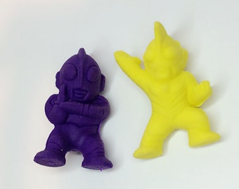 Fighting Alien Cute Erasers [Free Shipping]