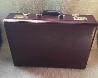 Vintage Leather Presto Briefcase