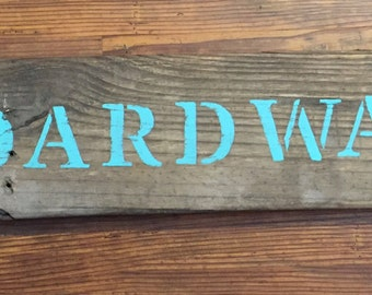 Boardwalk Sign