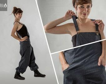 Very low crotch jumpsuit