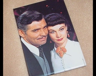 Gone With the Wind 1990s Refrigerator Magnet Rhett and Scarlett