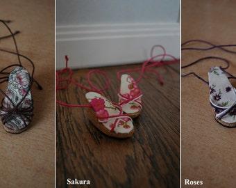 Cork wedge heels shoes for active line minifee