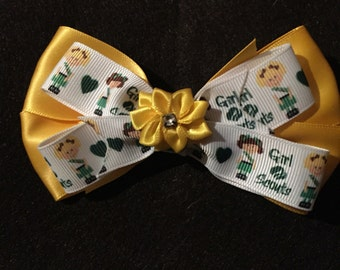 Girl Scout Hair Bow