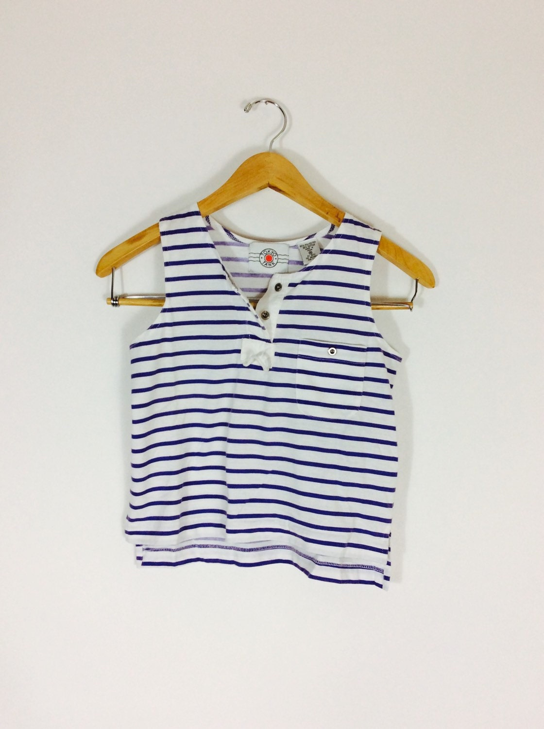 blue and white striped tank french nautical shirt french. Black Bedroom Furniture Sets. Home Design Ideas