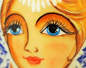 "10 Pcs Collectible Russian Nesting Doll Matreshka ""Russian Fairy Tales"" 11 "" Tall"