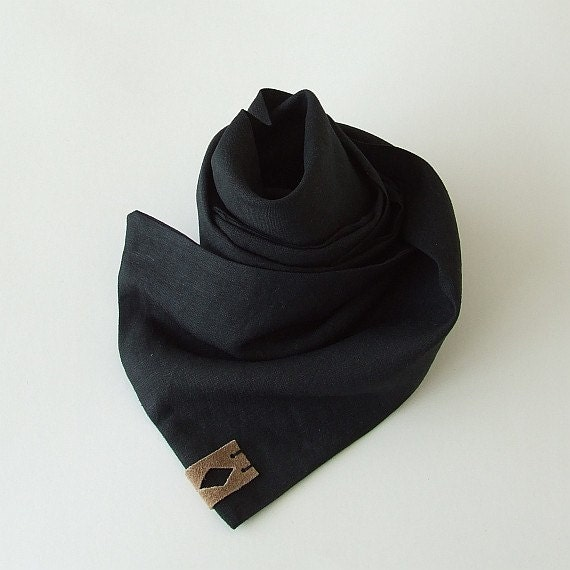 linen scarf for black linen summer scarf mens