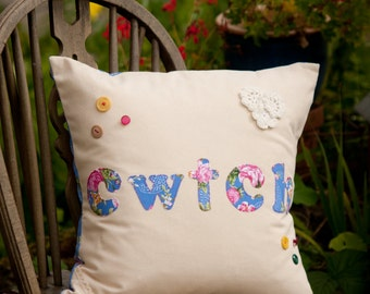 Luxury Cwtch Cushion