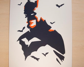 Batman 8x10 Screen Print