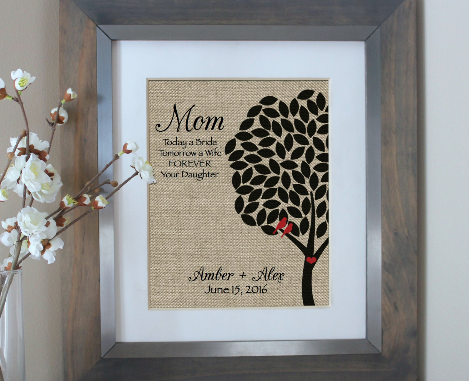 Wedding Thank You Gifts For Parents: Wedding Gift For Parents Wedding Thank You Gift Mother Of