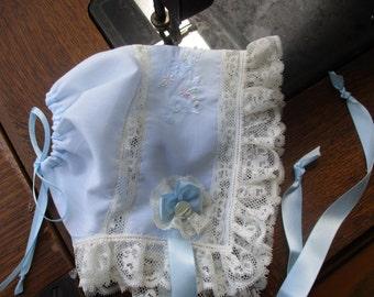 Heirloom Baby Bonnets