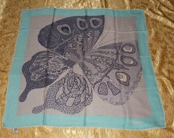 Genuine vintage Renato Balestra scarf - all silk