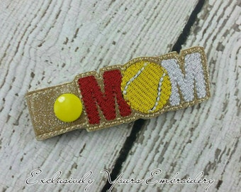 Tennis Mom Keychain - Spiritwear - Sportsmom - Bag Tag - Small Gift - Gift for Her - Thank You Gift - Team Gift - Team Mom - Sports