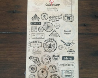 Suatelier stickers- stamp