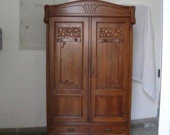 Art Nouveau armoire from 1905