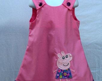 Girl dress, toddler dress, baby dress, girl aline dress, girl applique dress, girl aline outfit, girl birthday dress girl clothes