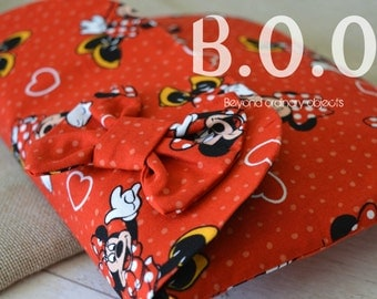 Minnie Mouse Red Clutch Bag