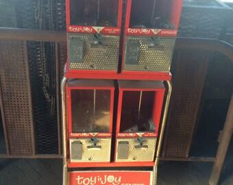 Antique Vintage Toy n Joy Gum Ball Machine