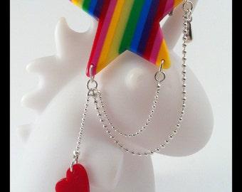 Rainbow Star PIN.